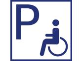 Parken rollstuhlgeeignet
