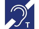 Icon induktive Höranlage vorhanden