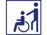 Zugang bedingt rollstuhlgeeignet