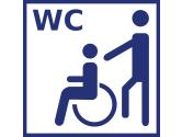 WC bedingt rollstuhlgeeignet